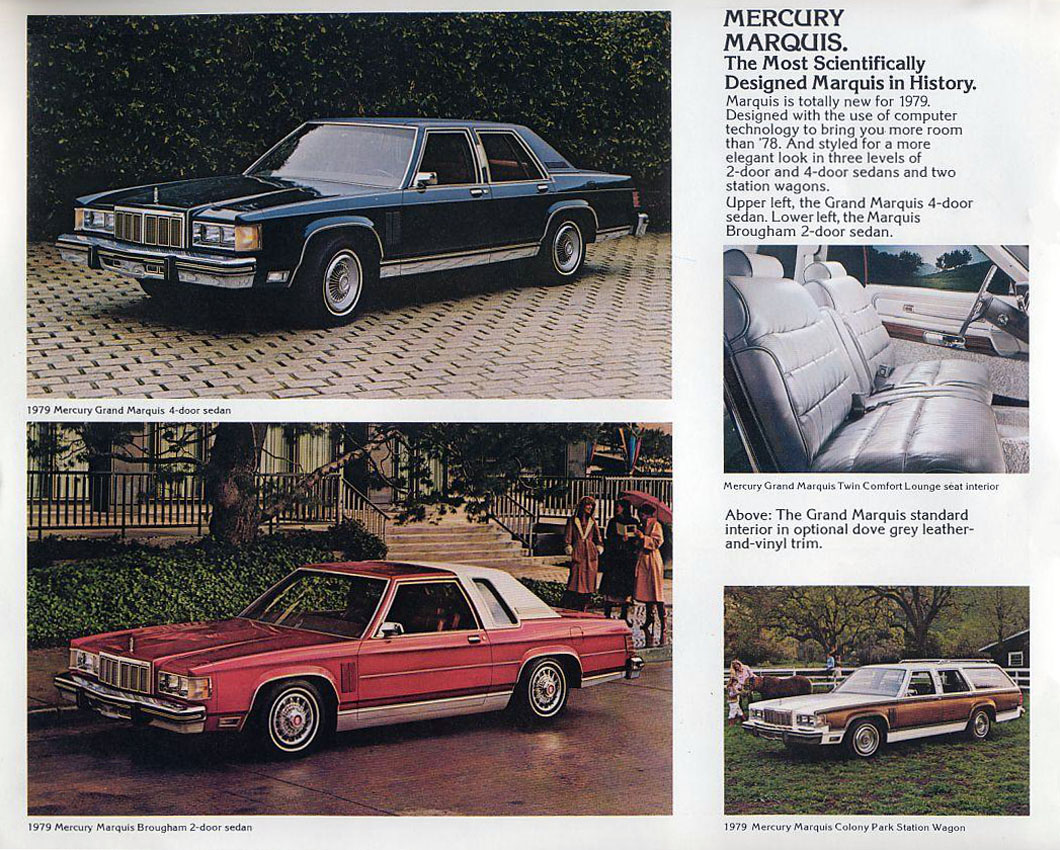 When the ford ltd and mercury marquis were introduced as 1979 models on the brand new platform identified internally as the panther nobody would have