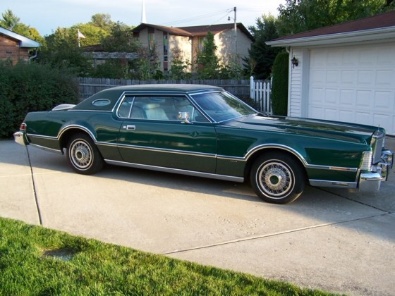 Classic Curbside Classic 1976 Lincoln Continental Mark Iv Gas Fed