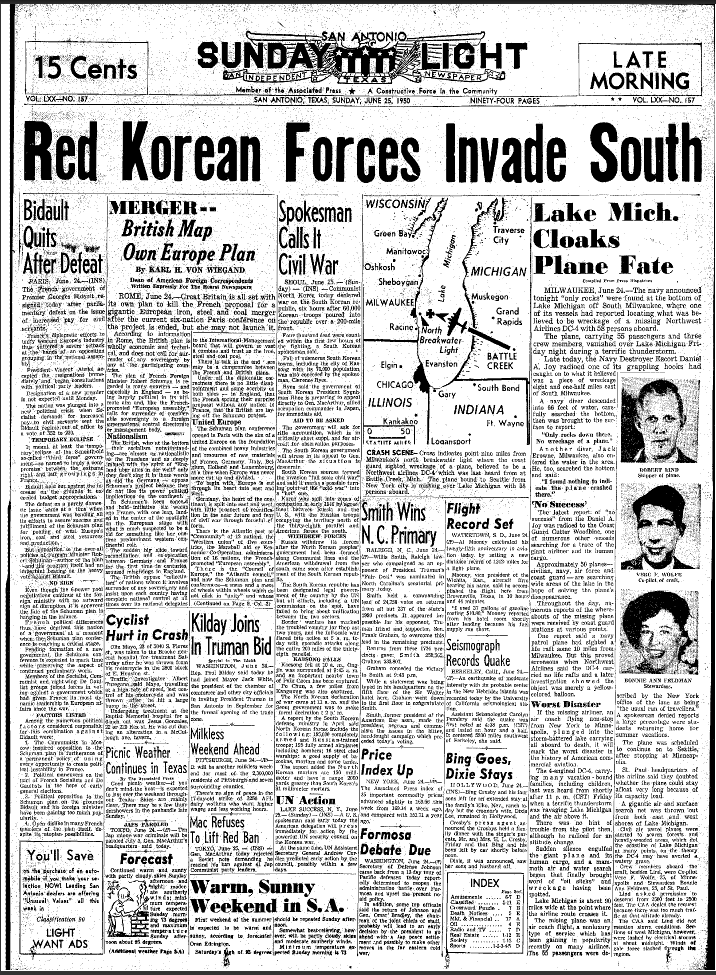 """Classic CC History: """"That Special Time""""- The U.S. Auto Industry During The Korean War"""