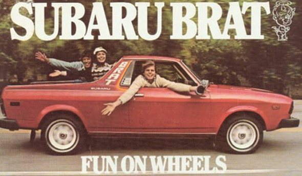 Subaru has always been known for its go-it-alone ways especially in the styling department. But the BRAT was pretty much in a league of its own.  sc 1 st  Curbside Classic & Trailhead Classic: 1978 Subaru BRAT u2013 Subie Doo