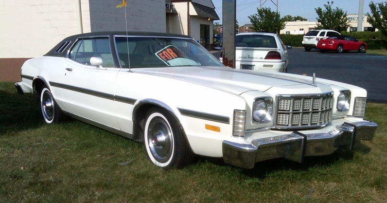 curbside classic 1976 ford elite a highfalutin hash 1977 Ford Grand Torino the