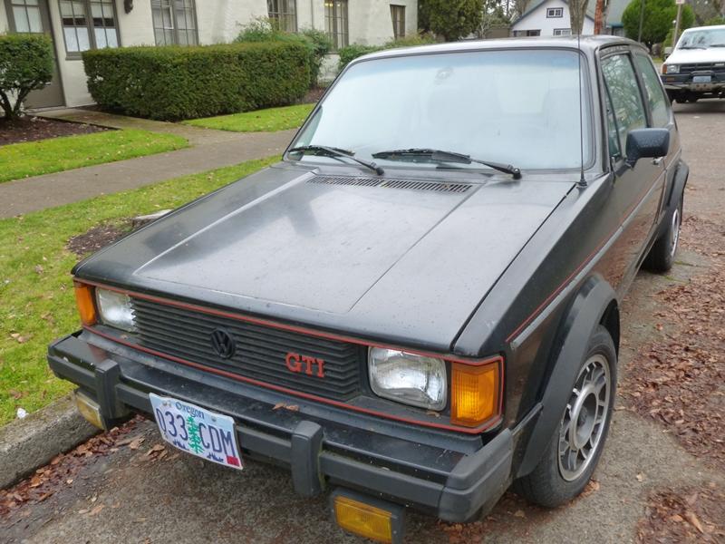Cars Of A Lifetime: 1984 Volkswagen Rabbit GTI -The Black ...