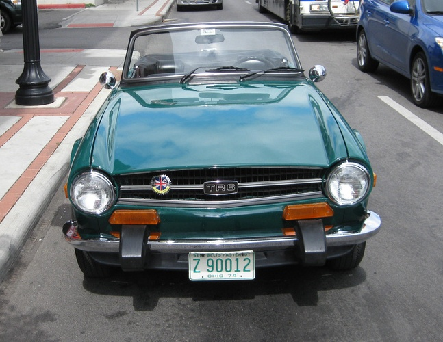 Cc Capsule 1974 Triumph Tr6 Pray For Clouds In Punxsutawney