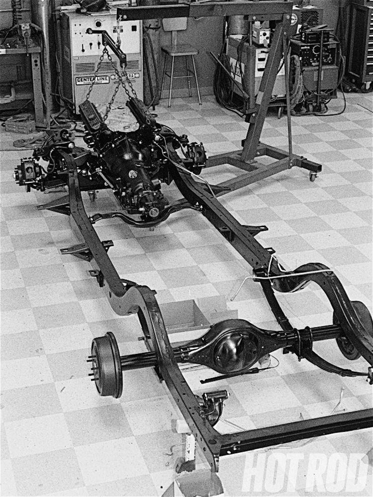 X Frame 57 Chevy Frame