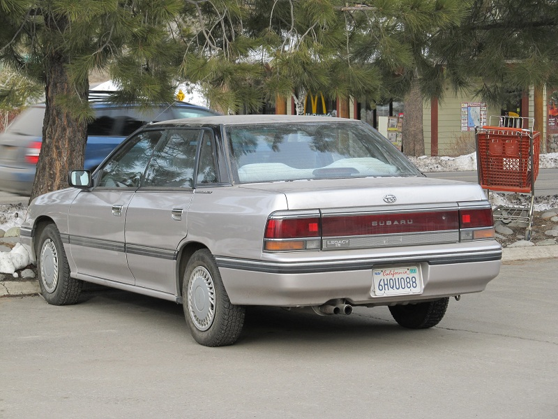 Curbside Classic Subaru Legacy The First Generation