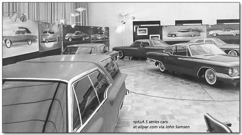 Plymouth 1962 SS studio