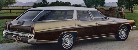 Curbside Classic: 1974 Buick Estate Wagon – Hold The Fake Wood, Please