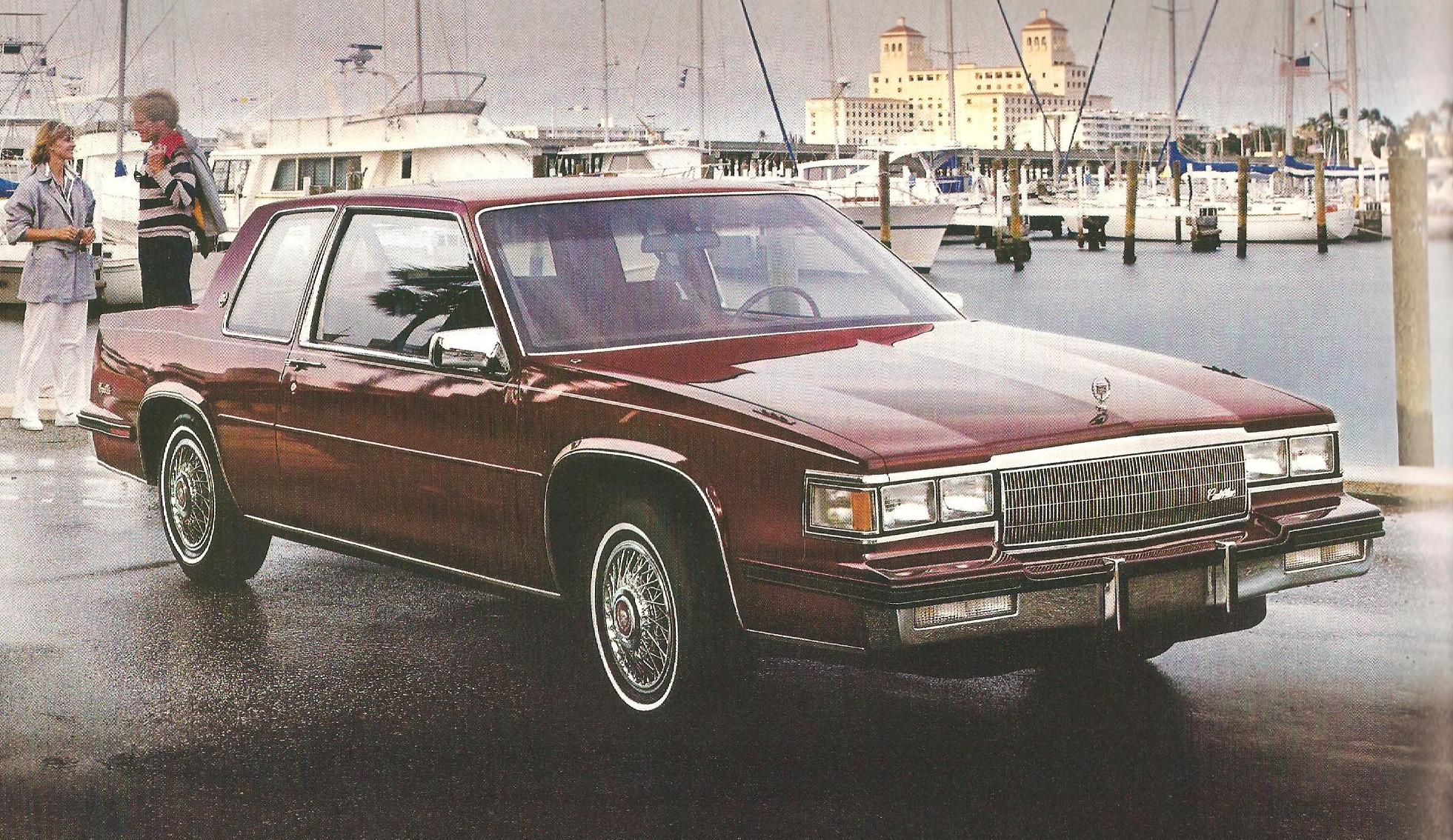 This is a 1985 Coupe de Ville. Not so impressive, eh?