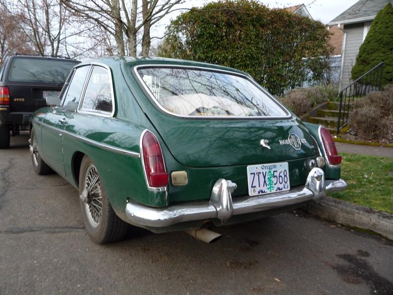 Auto-Biography: 1968 MGB GT – No Dream Car   Curbside Classic