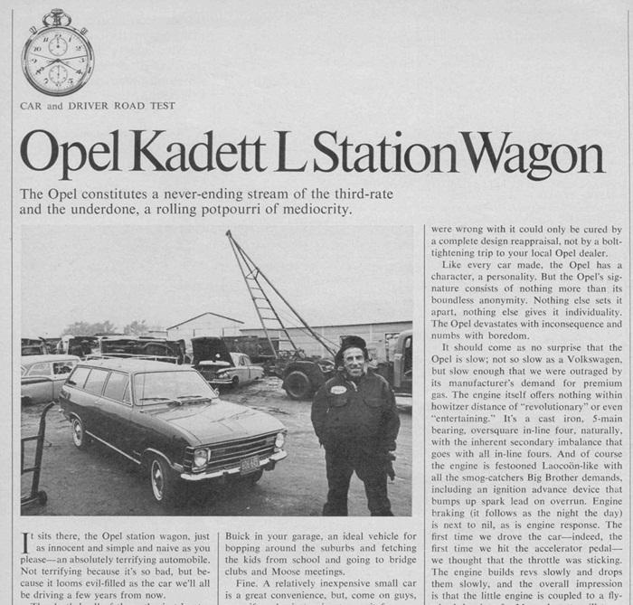 Opel Kadett POS