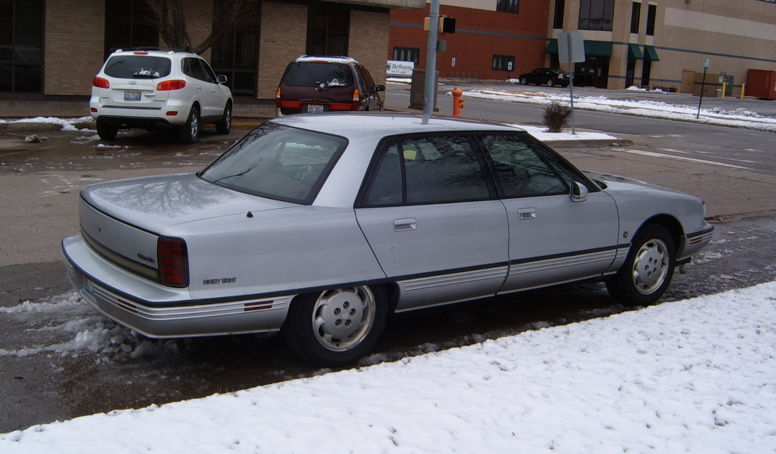 Curbside classic 1992 oldsmobile touring sedan a regency with an attitude