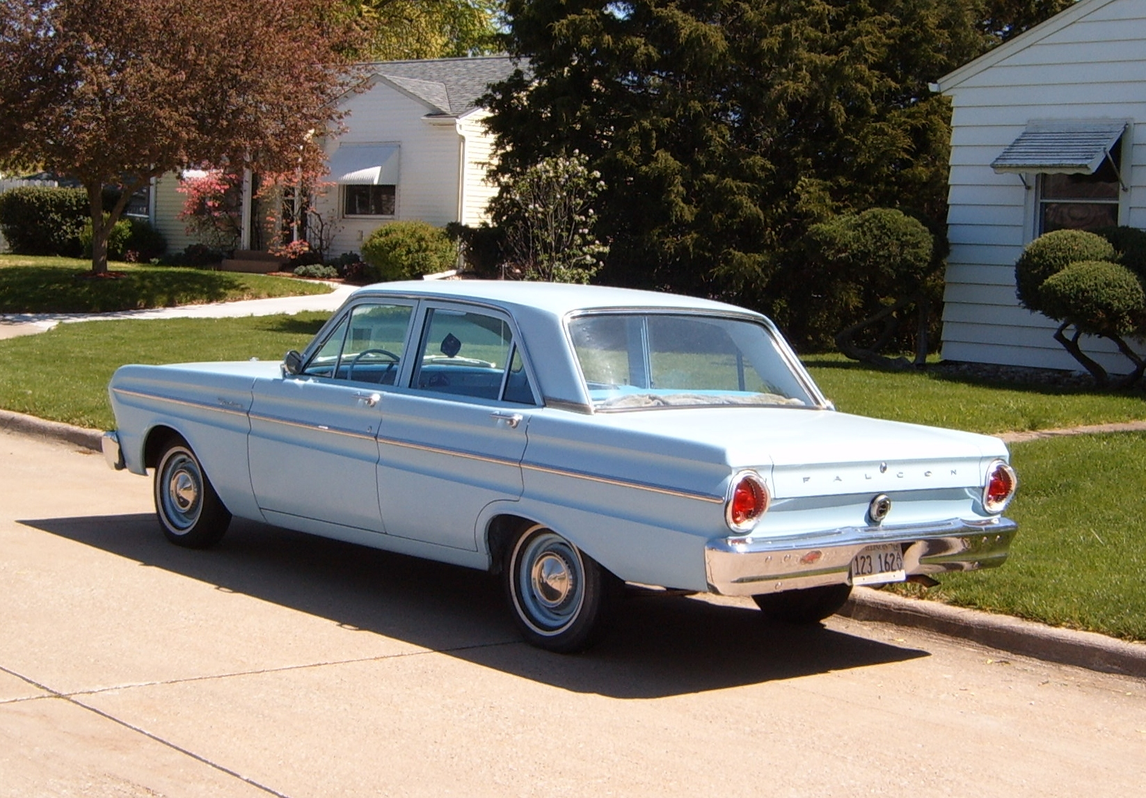 Curbside Classic 1964 Ford Falcon Plain And Simple Curbside Classic