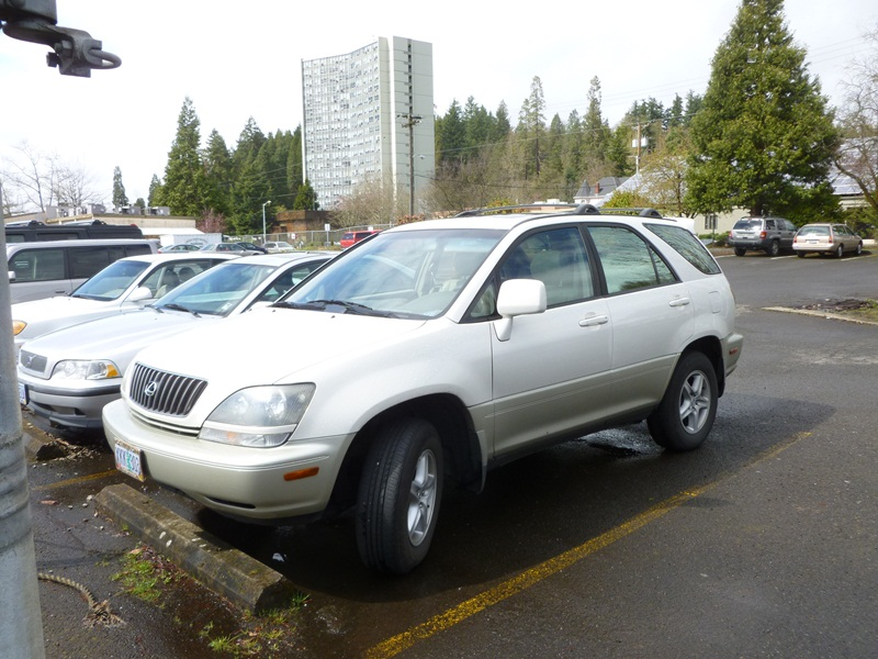 "Curbside Clic: 2000 Lexus RX 300; The First True CUV – ""There,"