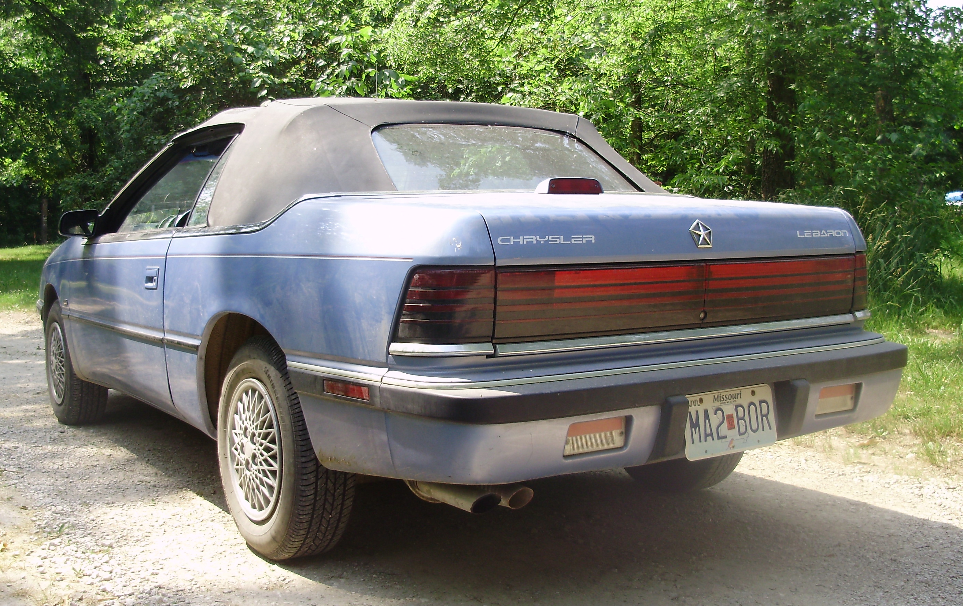 curbside classic 1992 chrysler lebaron convertible take your top  despite some quirks, this lebaron is a hoot to drive and it is capable of more than what one might first think in addition to this chrysler, its owner also