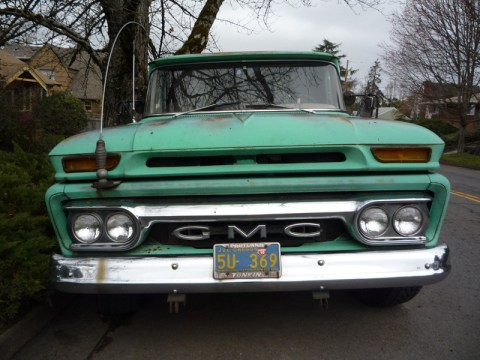 Curbside Classic: 1963 GMC Pickup – The Very Model Of A Modern V6
