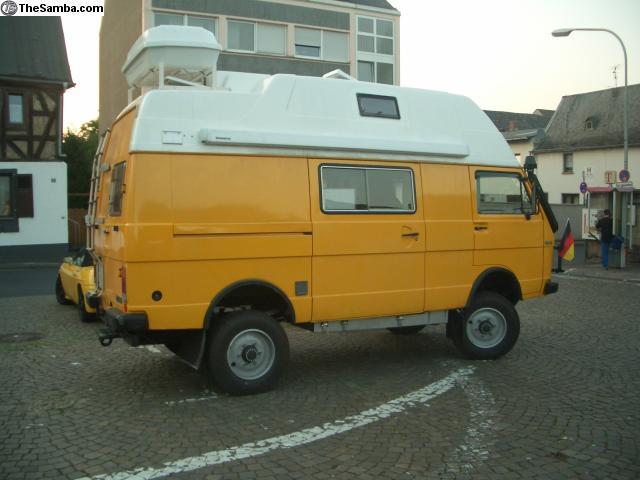 Curbside Classic 1990 Vw Lt 4 215 4 Westfalia Camper The