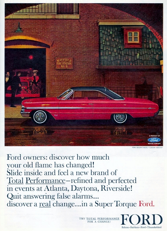 Curbside Classic: 1964 Ford Galaxie 500 – Say Goodbye To