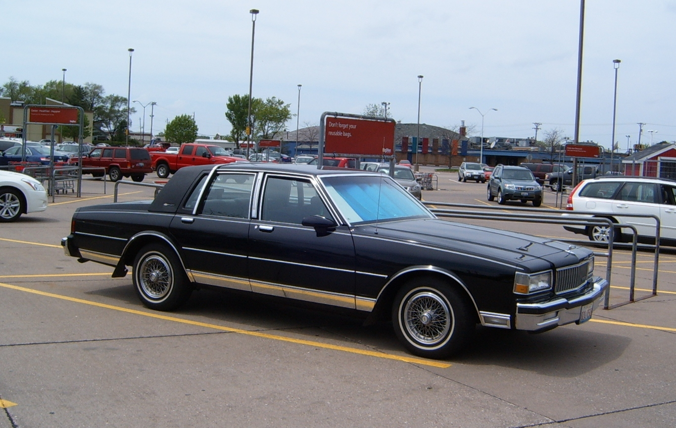 Curbside Classic: 1990 Chevrolet Caprice Classic Brougham LS ...