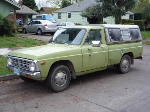 Curbside Classic: 1976 Ford Courier – The Second Toughest Old Mini ...
