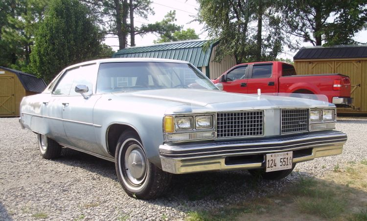curbside classic 1976 oldsmobile ninety eight orville. Black Bedroom Furniture Sets. Home Design Ideas