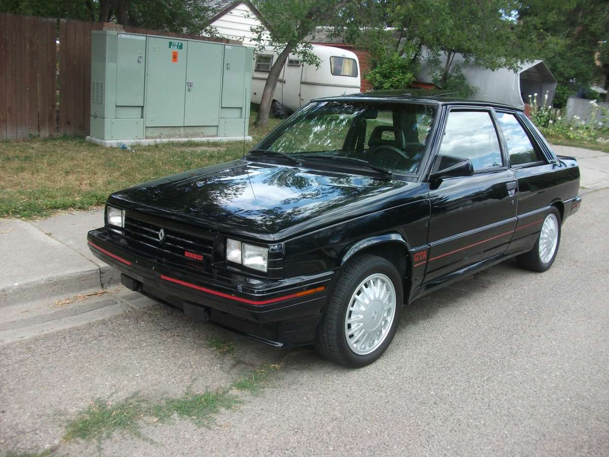 curbside classic 1987 renault gta an alliance of a