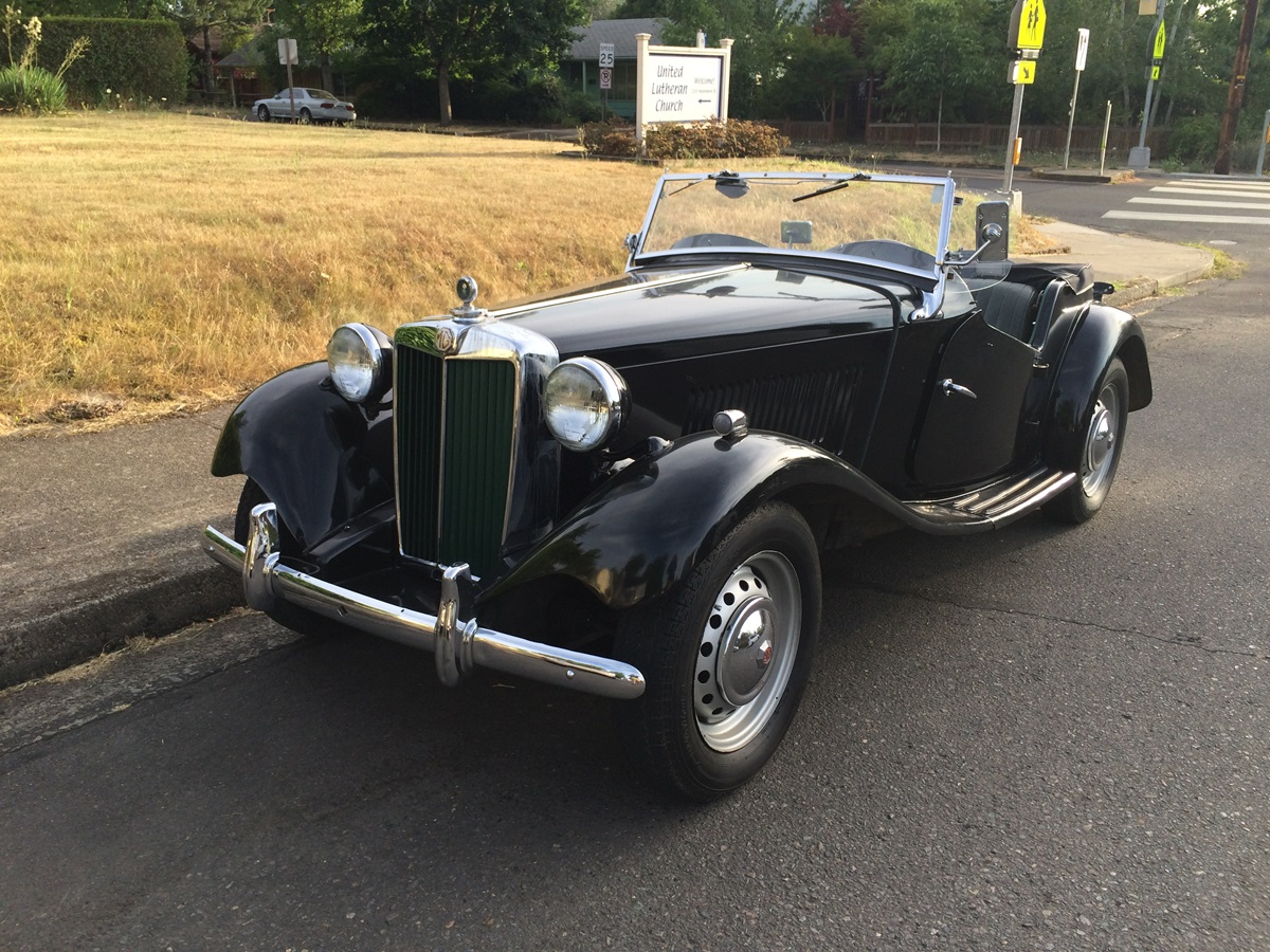 78d137cab Curbside Classic: MG TD – I Was Retro Before Retro Was Cool
