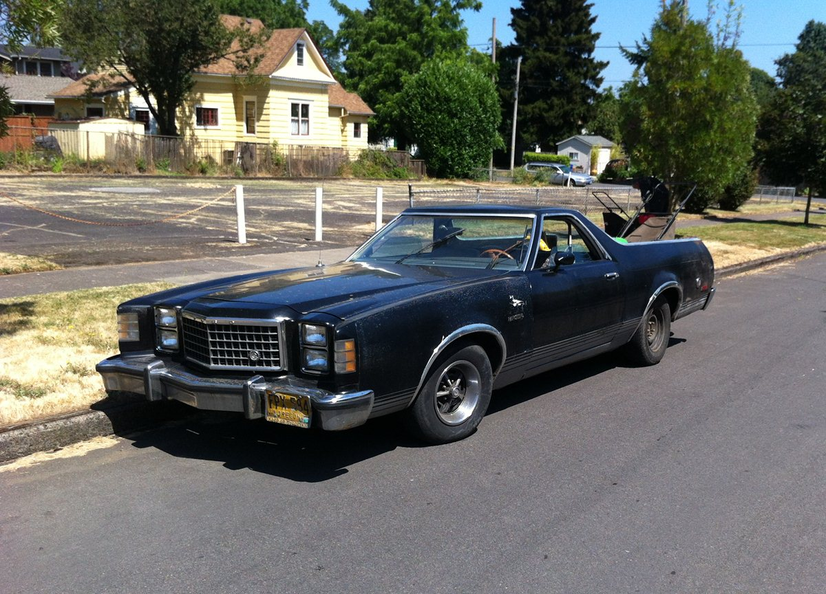 kind of like this - 1979 Ford Ranchero
