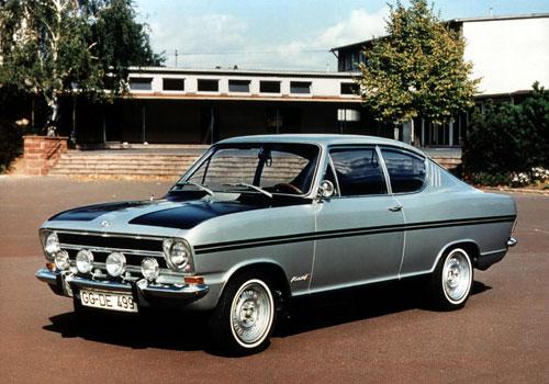 1968 opel kadett rallye