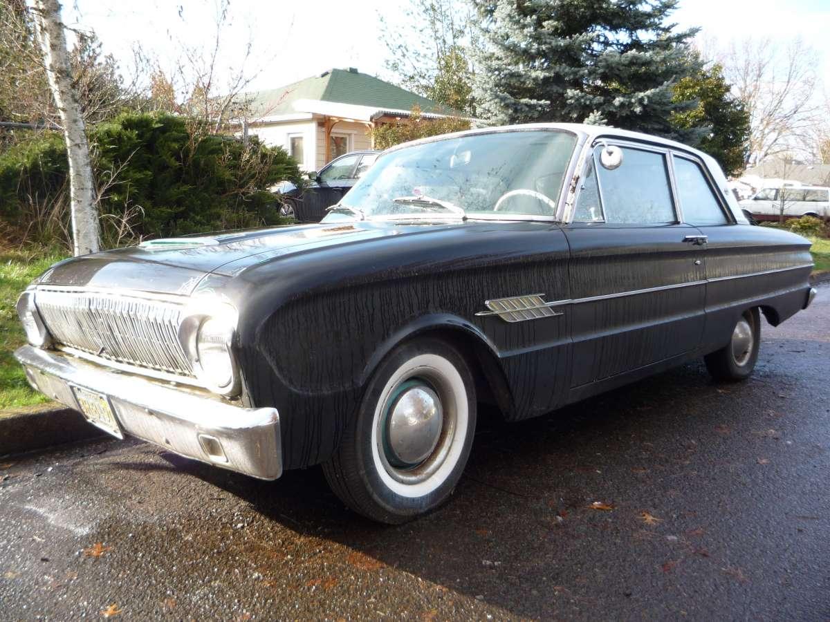 Curbside classic 1962½ ford falcon futura sports sedan ford sees the future at chevrolet