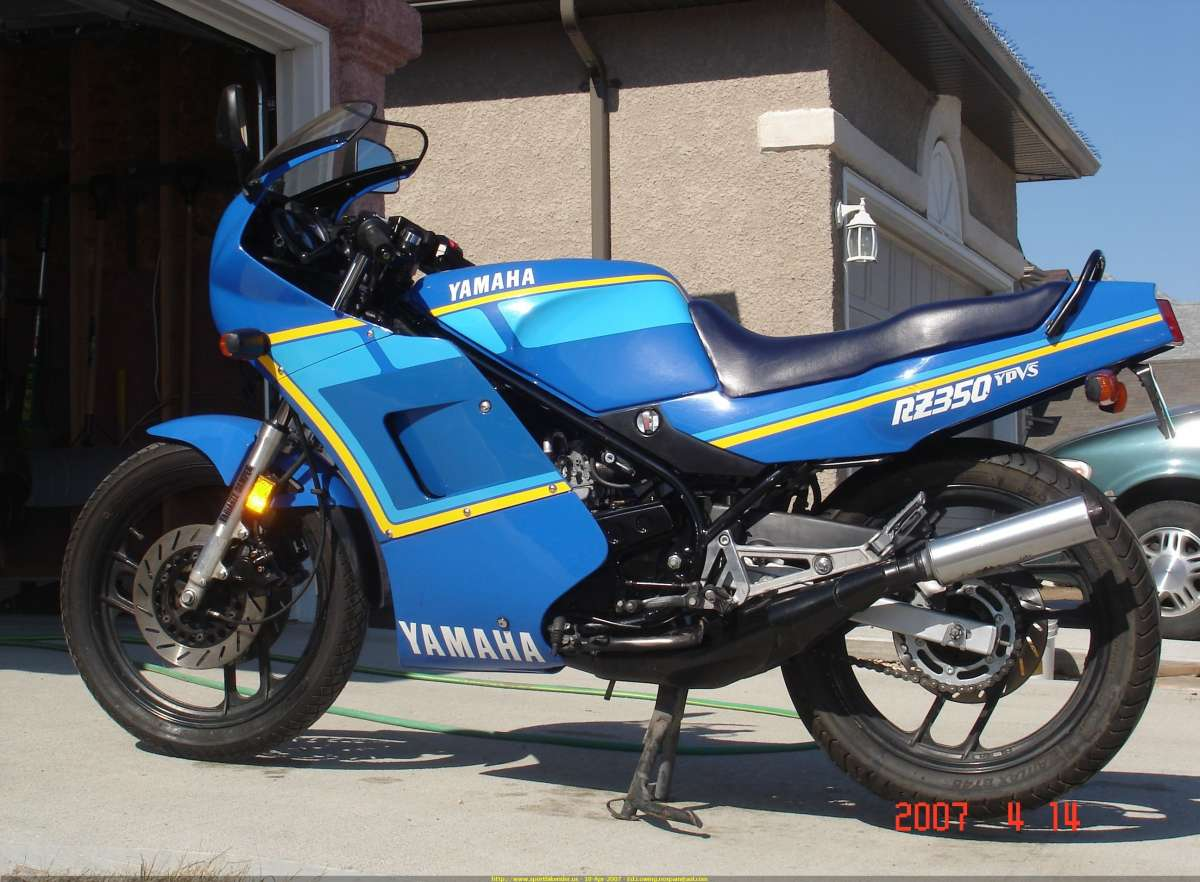 Bikes Of A Lifetime: 1990 Yamaha RZ350 – Two-Cycle Terrific