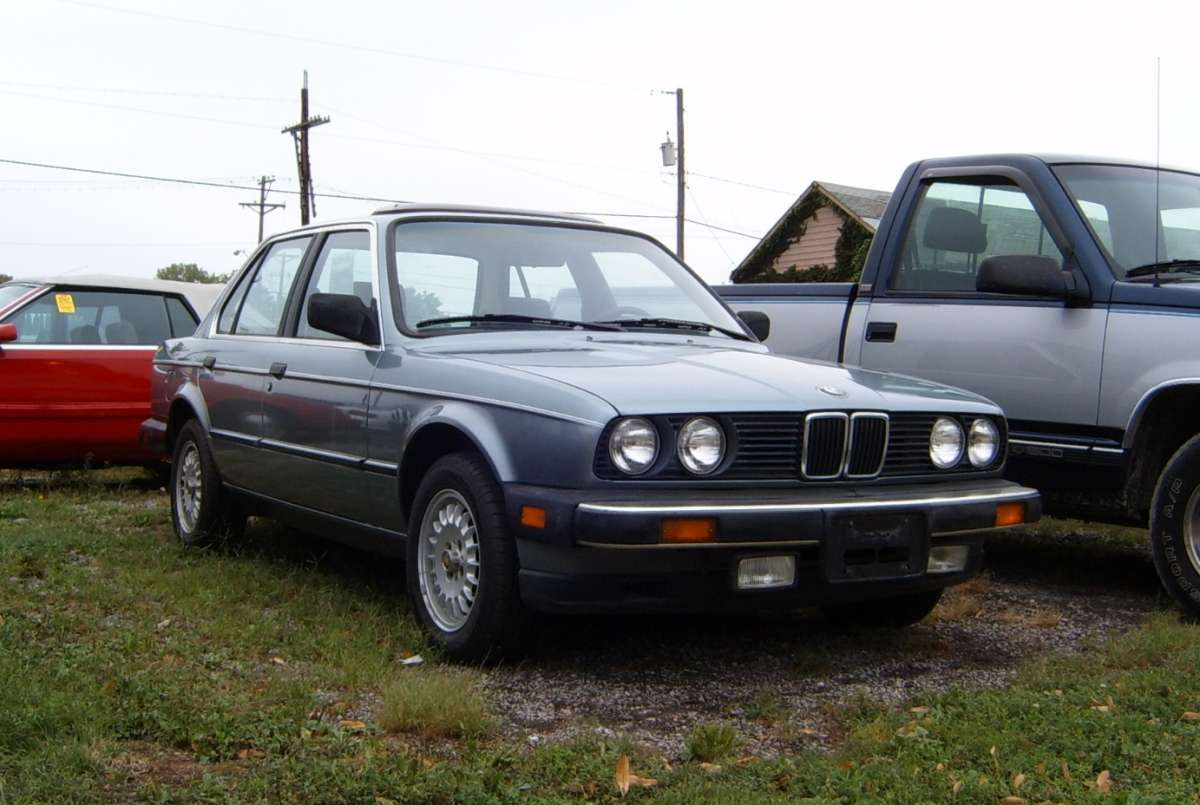 All BMW Models 1980s bmw Curbside Classic: 1985 BMW 318i – Teutonic Respite At The Tail End ...