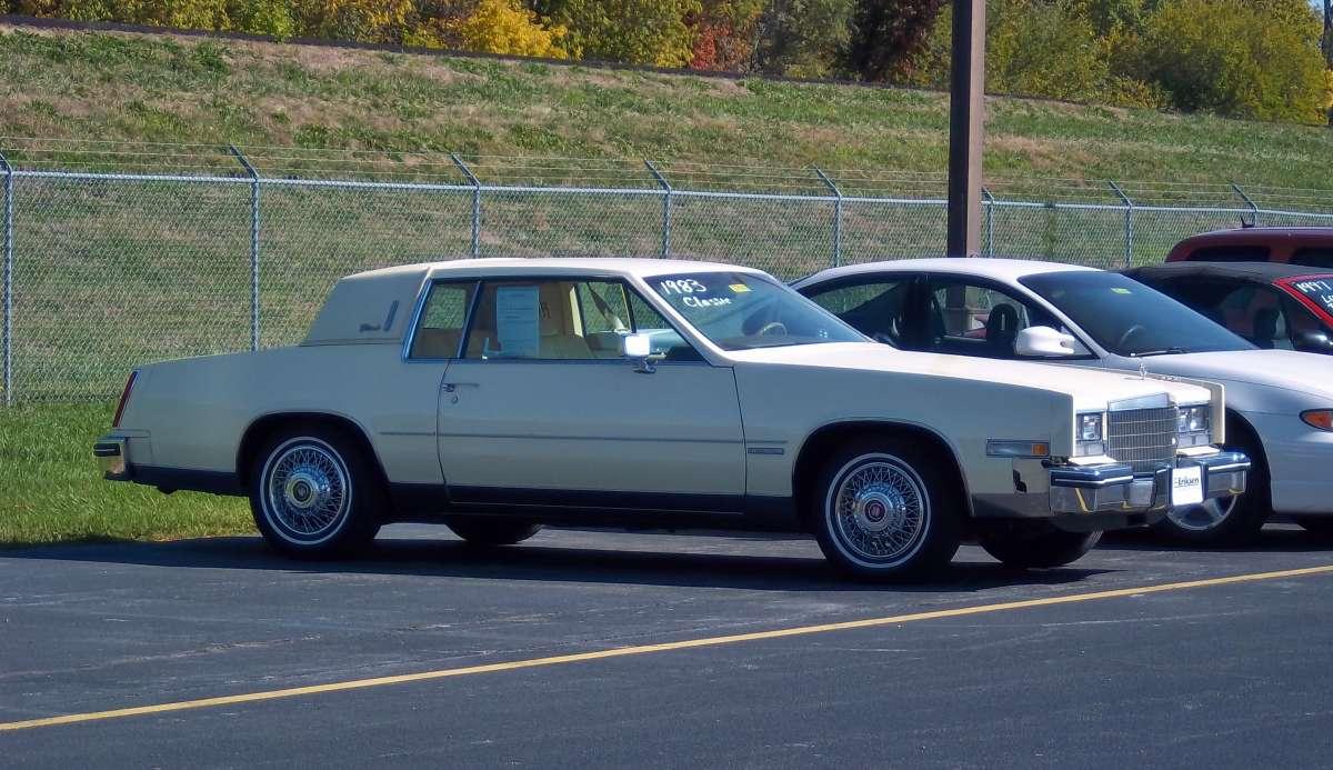 Curbside Classic 1983 Cadillac Eldorado Mmm Buttery 50s V8 Engine