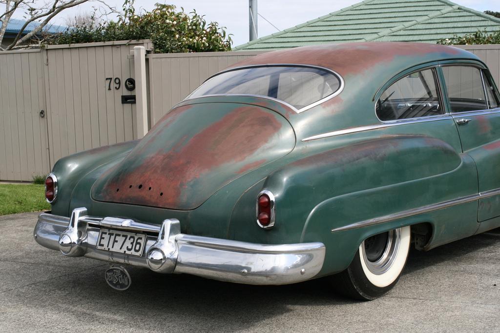Cohort Classic 1950 Buick Special Sedanet Design