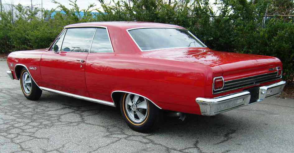 1965 Chevelle SS396 Z16: 201 Built, And A Common 396 Engine