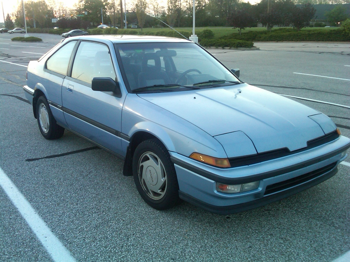 Curbside Classic 1989 Acura Integra Ls A Hot Hatch For