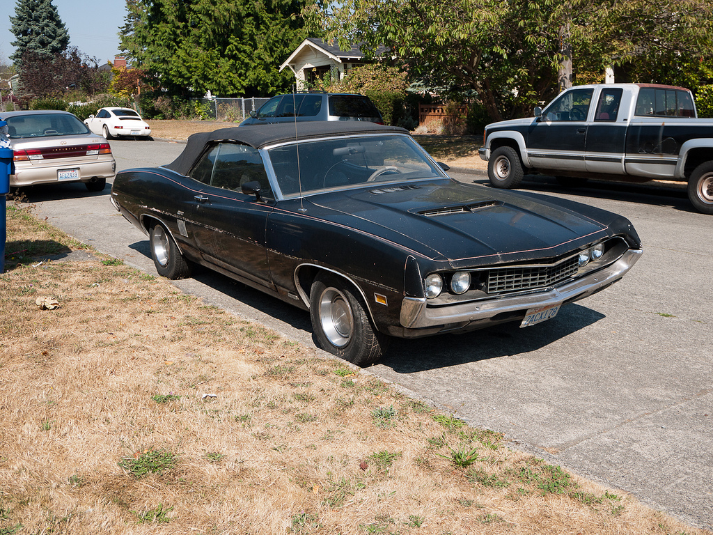 forgotten classic 1970 ford torino gt convertible so rare i forgot it even came as a convertible