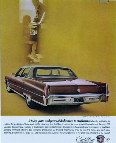 Curbside Classic: 1970 Cadillac Fleetwood Brougham: Last Of