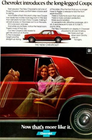 77 Caprice coupe ad