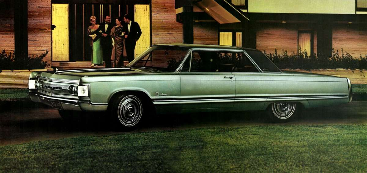 Car Show Classic 1967 Imperial Crown Coupe For The Last Time It S Not A Chrysler Curbside Classic