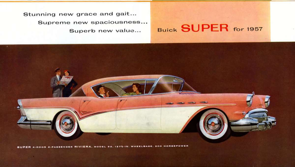 Coal 1957 Buick Roadmaster Riviera Master Of The Road And My Autronic Eye Circuit Diagram For 1960 Chevrolet Passenger Car
