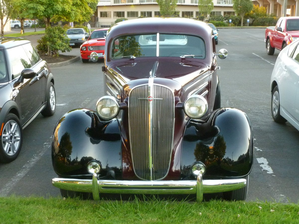 Curbside Classic: 1936 Chevrolet Master DeLuxe – Is It Too Early For ...