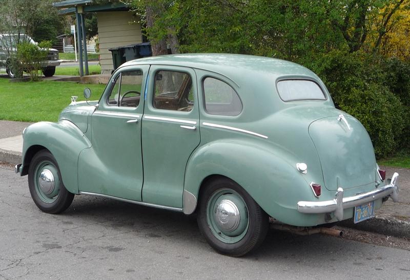 Curbside classic 1951 austin a40 devon the best selling for 1948 austin devon 4 door