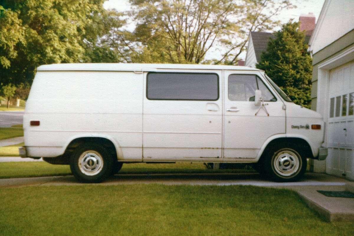 c09a39c92e COAL  1978 Chevrolet Van – The Iron Maiden