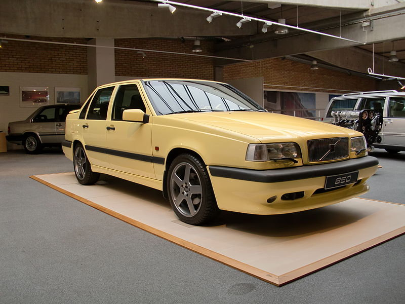 Cc Capsule 1995 Volvo 850 T 5r A Rare Yellow Bird With A Touch Of