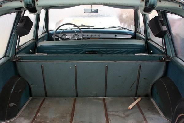 1962 Vauxhall Victor wagon interior