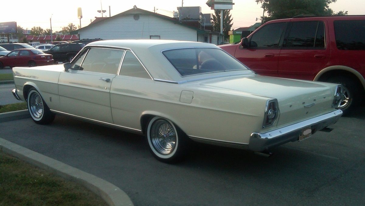 Curbside Classic 1965 Ford Galaxie 500 A New Ford Fit For