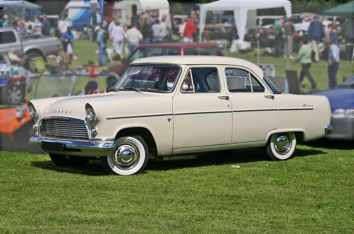 Storage Yard Classic Ford Zephyr Mk Ii