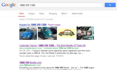 Google VW 1300
