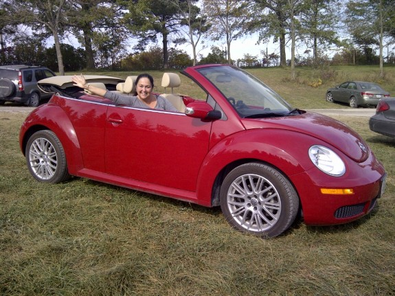 last convertible ride of 2012