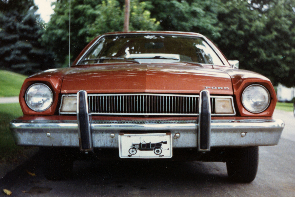 Coal 1975 Ford Pintofecal Brown Freedom